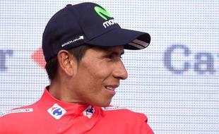 Nairo Quintana garde son maillot rouge de leader