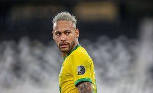 Neymar, finaliste un peu fâché.