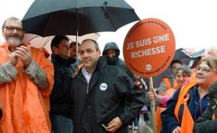 Laurent Berger le 22 septembre 2015 à Paris