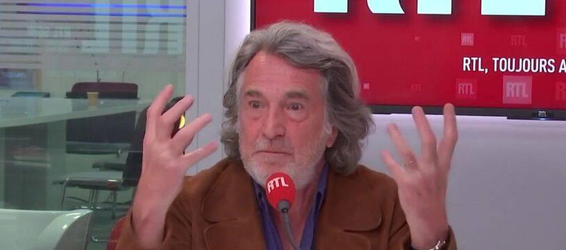François Cluzet interrogé sur RTL le 16 octobre 2020