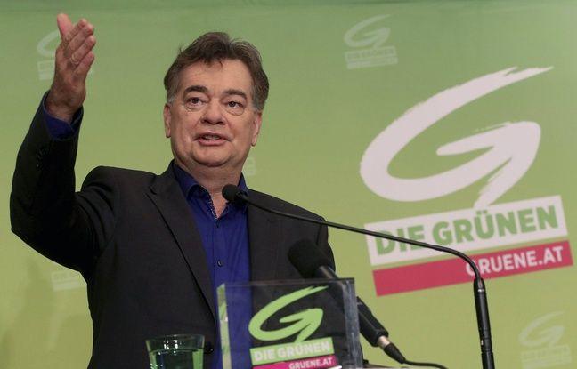 Werner Kogler, chef de file des Verts autrichien, le 10 novembre 2019 à Vienne.