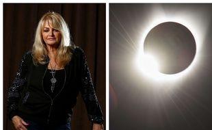 Bonnie Tyler a chanté «Total Eclipse of the Heart» pendant l'éclipse du 21 août aux Etats-Unis
