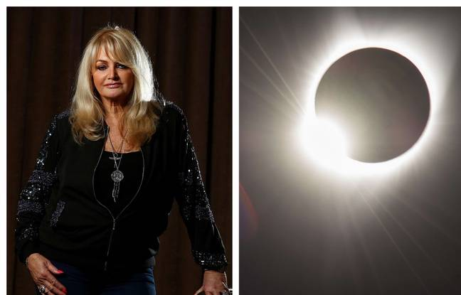 VIDEO. Bonnie Tyler a chanté «Total Eclipse of the Heart» pendant l'éclipse