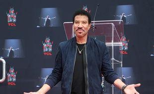 Le chanteur Lionel Richie