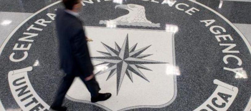 Le hall du siège de la CIA à Langley, en Virginie