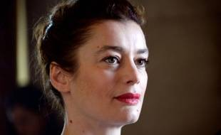 L'ex-étoile Aurélie Dupont, lors d'une conférence à Paris le 15 avril 2015