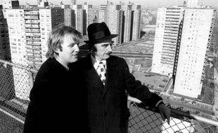 Donald Trump et son père, Fred, dans les années 1970.
