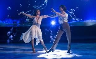 Elsa Esnoult et Anthony Colette dans Danse avec les stars sur TF1