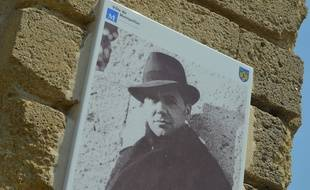 Le célèbre portrait de Jean Moulin, photographié à Montpellier. Jean Moulin est au coeur de l'une des énigmes proposées par Atlantide.