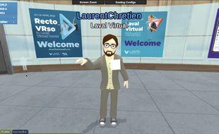 La visite en avant première de Laval Virtual World