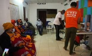 Un bureau de vote à Mtsapere (Mayotte), 20 juin 2021.