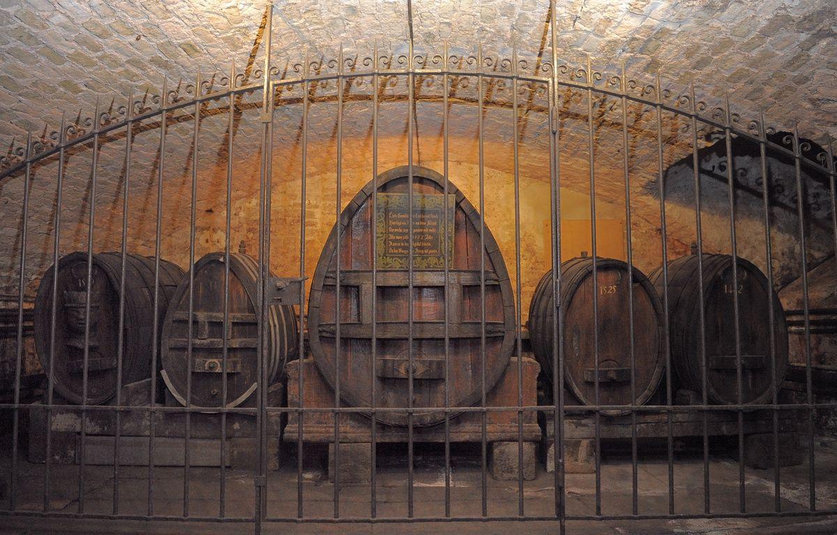 Conservé à la cave historique des Hospices de Strasbourg, le plus vieux vin du monde va être transféré dans un nouveau fût, ce mercredi 21 janvier 2015. – G. VARELA / 20 MINUTES