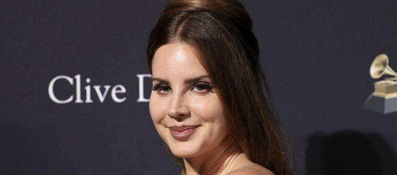 La chanteuse Lana Del Rey.