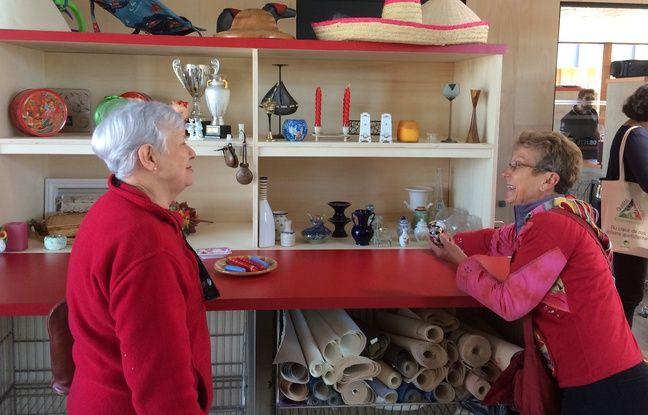 Michelle et Michelle découvrent les objets laissés à une nouvelle vie par leurs anciens propriétaires.