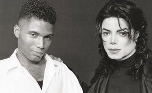 Adrian Grant, créateur du spectacle «Thriller Live» et Michael Jackson