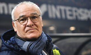 Claudio Ranieri entraîneur du FC Nantes depuis l'été 2017.