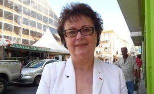 Christine Boutin, le 5 février 2012, à la Martinique.
