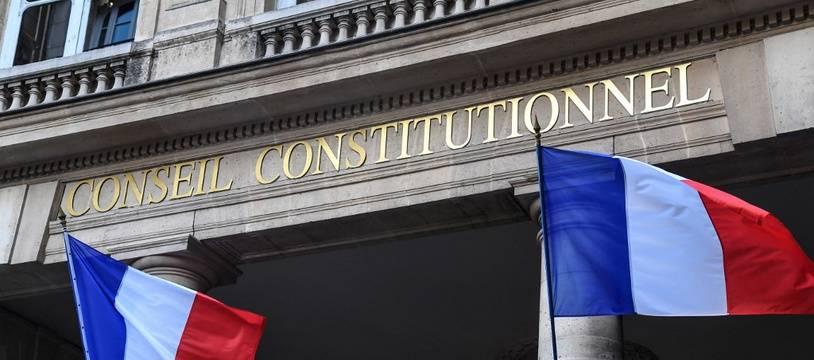 Image d'illustration de la façade du Conseil constitutionnel.