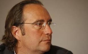 Xavier Niel, le patron de Free, lors d'une conférence à Paris en 2007