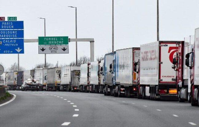 648x415 illustration embouteillage a16 vers port eurotunnel calais