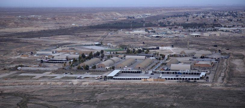 La base d'Al-Assad en Irak (illustration).