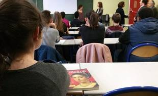 Au lycée Marie Curie de Strasbourg