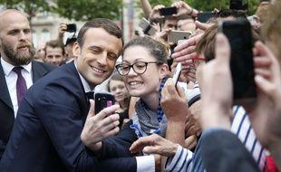 Emmanuel Macron, le 3 juin 2017 à Paris.