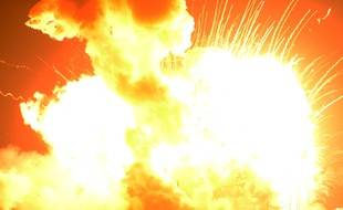 Une fusée Antares d'Orbital Sciences a explosé juste après son décollage, le 28 octobre 2014.
