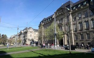 Jean-Luc Marx, préfet du Grand Est et du Bas-Rhin, se dit opposé au projet de fusion. Ici, une photo de la préfecture, situe à Strasbourg.