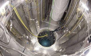 Le réacteur nucléaire d'Olkiluoto, en Finlande.