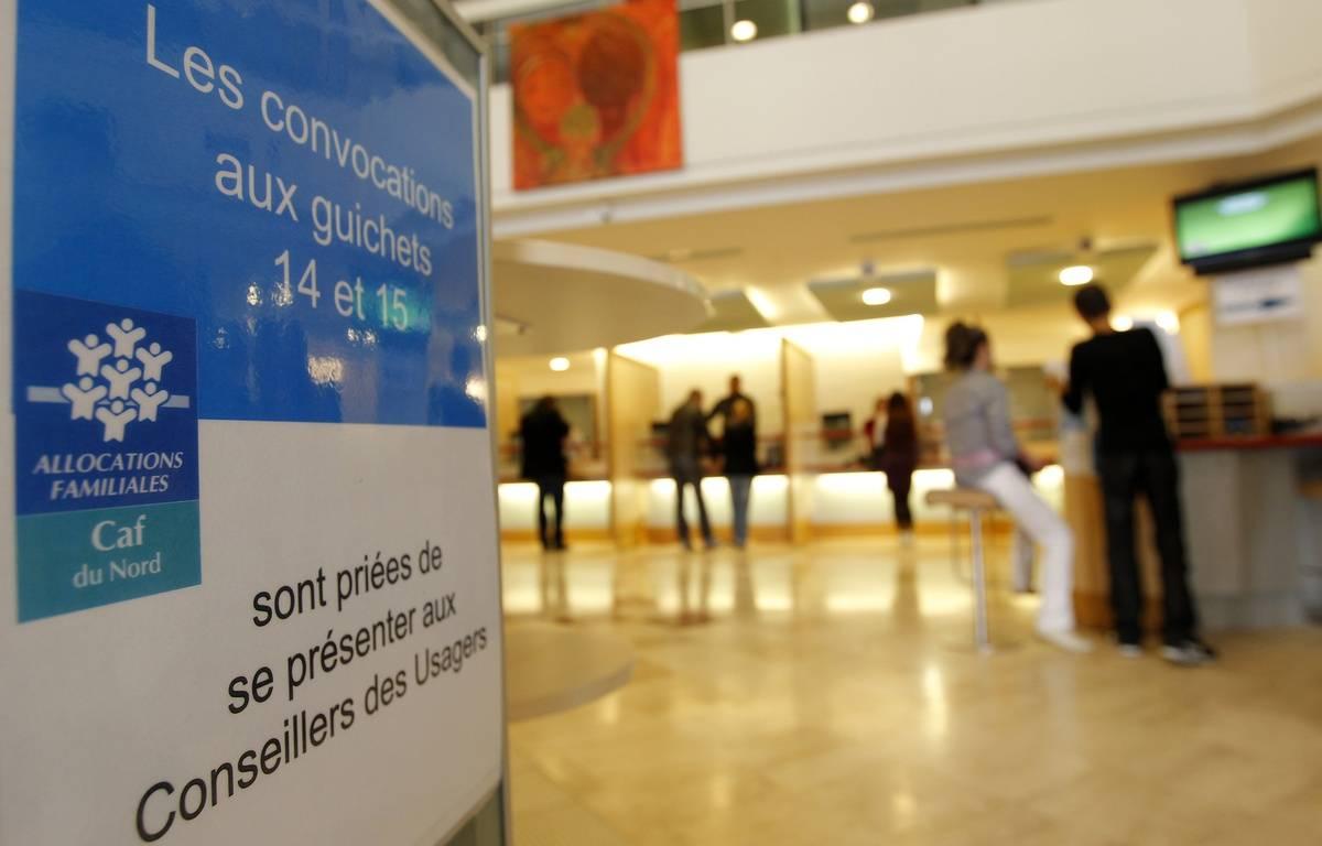 Lille, le 22 octobre 2012. Illustration sur la Caisse d'Allocations Familiales (CAF). – M.LIBERT/20 MINUTES