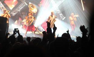 Illustration d'un concert au Parc Expo. Ici lors des Trans Musicales de Rennes en 2016.