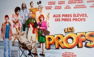 L'affiche du film Les Profs, réalisé par Pierre-Francois Martin-Laval.