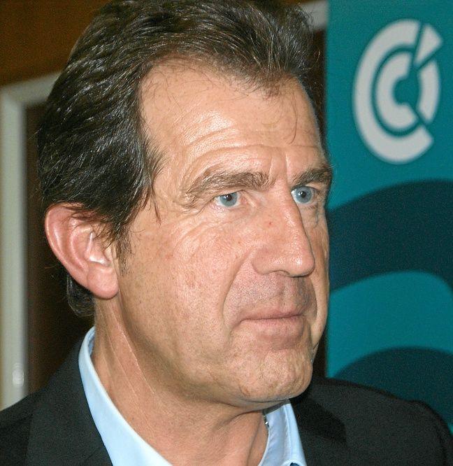 André Deljarry, président de la CCI.