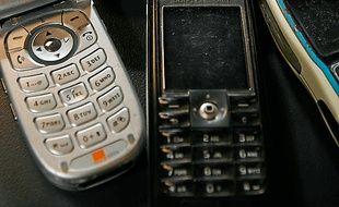 Un téléphone portable récupéré contre un bon d'achat de 5 €.