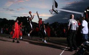 Le tournoi de basket de rue du Quai 54 à Paris, édition 2007