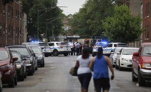 Plusieurs personnes ont été tuées par balle à Chicago, dimanche 5 août 2018.