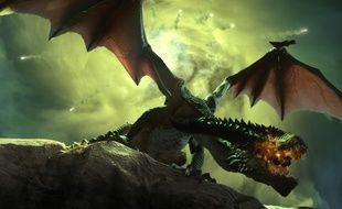 Un dragon dans Dragon Age Inquisition.