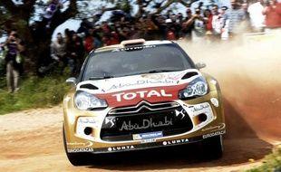 L'Espagnol Dani Sordo (Citroën DS3) a réussi le meilleur temps des essais qualificatifs du Rallye du Portugal, couru sur terre, quatrième étape du championnat du monde WRC, jeudi dans la région de Faro, à près de 300 km au sud de Lisbonne.