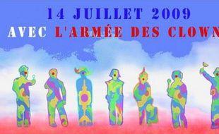 Le défilé de la brigade activiste des clowns du 14 juillet 2009 a mal tourné.