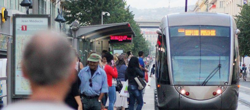A Nice, la ligne 1 du tramway ne vas pas au-delà de l'hôpital Pasteur pour le moment