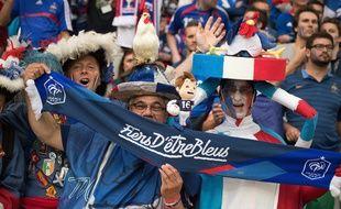 Des supporters français lors de l'Euro 2016.