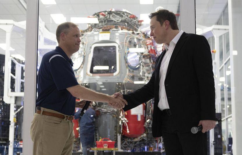 Espace: La Nasa et SpaceX tablent sur début 2020 pour le prochain vol américain habité