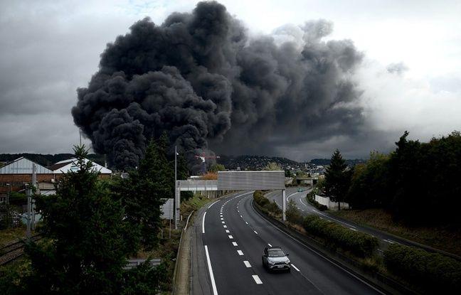 Incendie de Lubrizol à Rouen: La commission d'enquête du Sénat rendra ses conclusions début avril