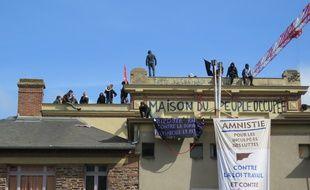 Des opposants à la loi Travail avaient occupé la salle de la Cité en mai 2016manifestants occupent depuis dimanche la salle de la Cité à Rennes.