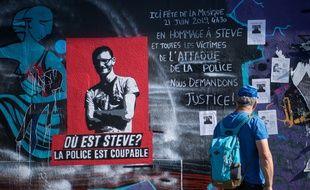 Monument hommage à Steve à Nantes