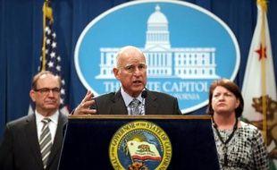 Le gouverneur de Californie, le démocrate Jerry Brown, le 19 mars 2015 à Sacramento
