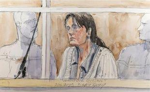 Véronique Courjault a tenté d'expliquer, hier, pourquoi elle avait nié les meurtres.