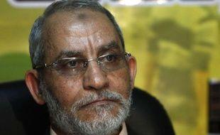 Lee guide suprême des Frères musulmans, Mohamed Badie.
