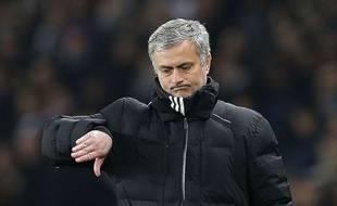 José Mourinho face au PSG, le 17 février 2015